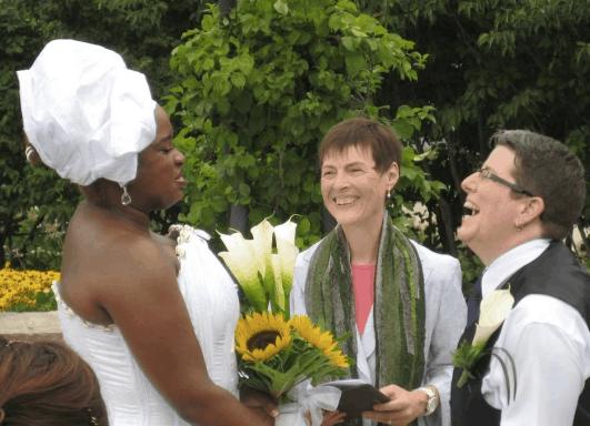 Unitarian Chaplain Marrying A Couple