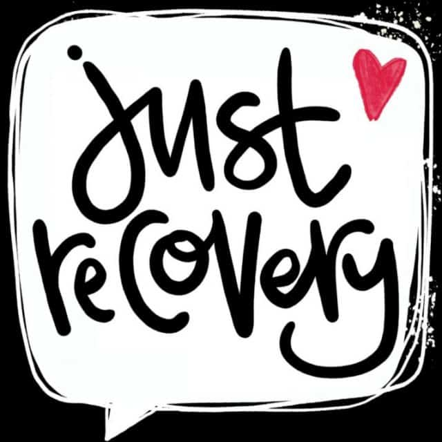 Sign that says Just Recovery